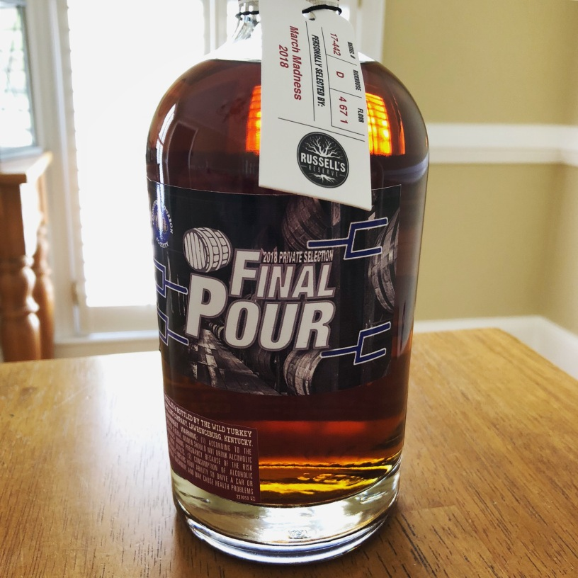 Russell's Reserve Final Pour